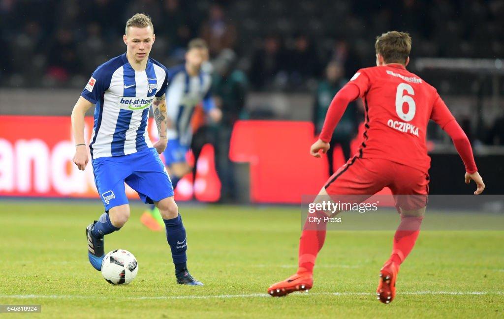 Hertha BSC v Eintracht Frankfurt - 1 Bundesliga : News Photo