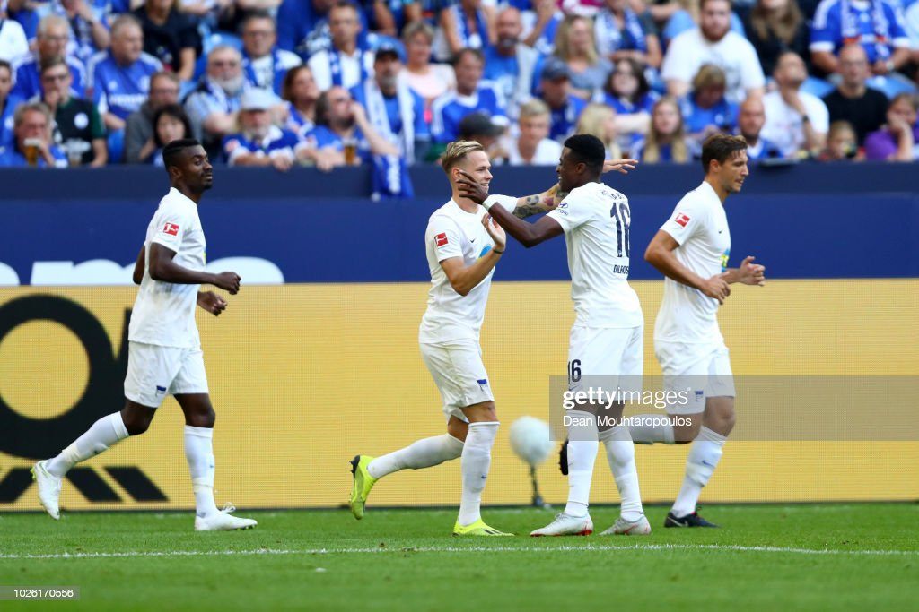 FC Schalke 04 v Hertha BSC - Bundesliga