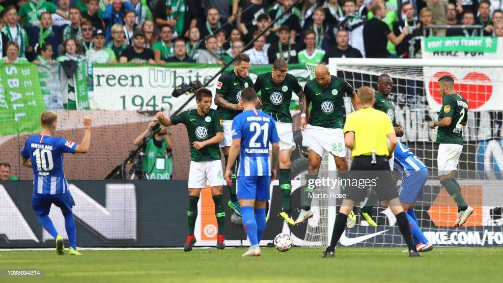 VfL Wolfsburg v Hertha BSC - Bundesliga : Nachrichtenfoto