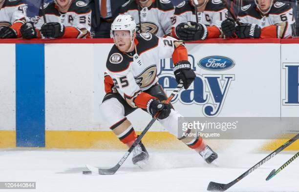 Ondrej Kase of the Anaheim Ducks skates against the Ottawa Senators at Canadian Tire Centre on February 4 2020 in Ottawa Ontario Canada