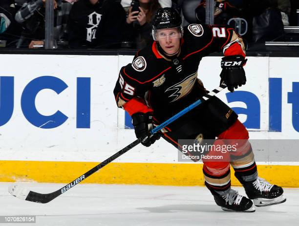 Ondrej Kase of the Anaheim Ducks skates during the game against the Colorado Avalanche on November 18 2018 at Honda Center in Anaheim California