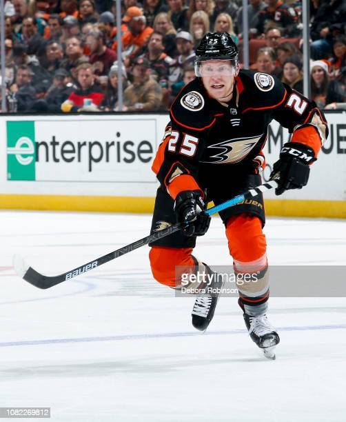 Ondrej Kase of the Anaheim Ducks skates during the third period of the game against the Dallas Stars at Honda Center on December 12 2018 in Anaheim...