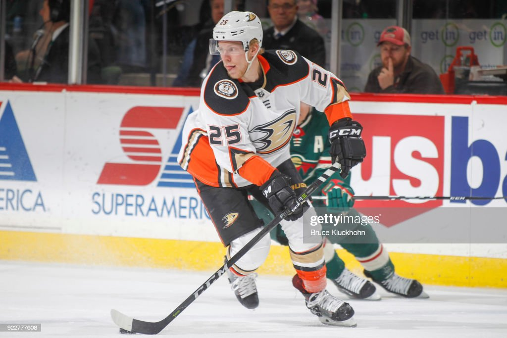 Anaheim Ducks v Minnesota Wild : News Photo
