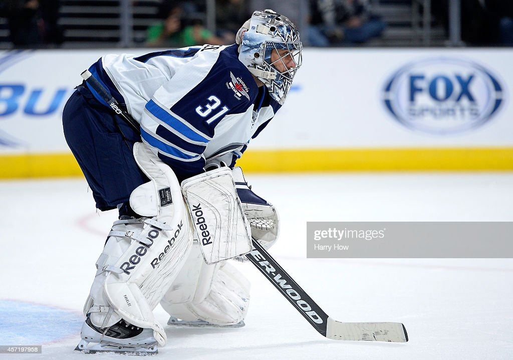 Winnipeg Jets v Los Angeles Kings : News Photo
