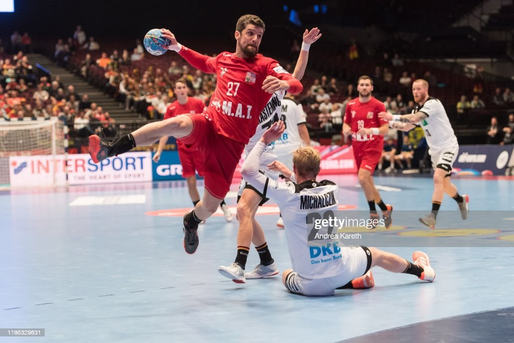 Czech Republic v Germany: Group I - Men's EHF EURO 2020 : News Photo