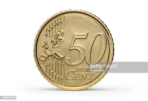 One 50 Euro Cent