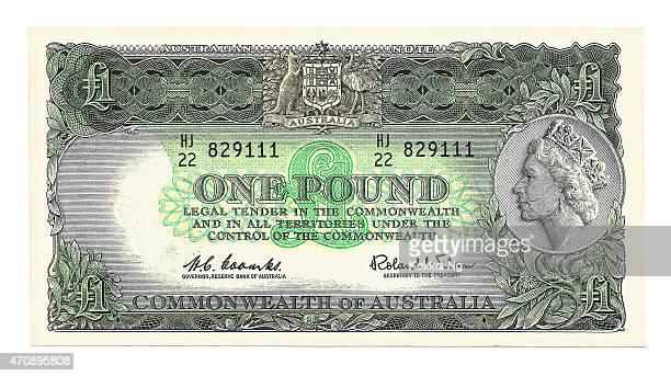 One Australian Pound