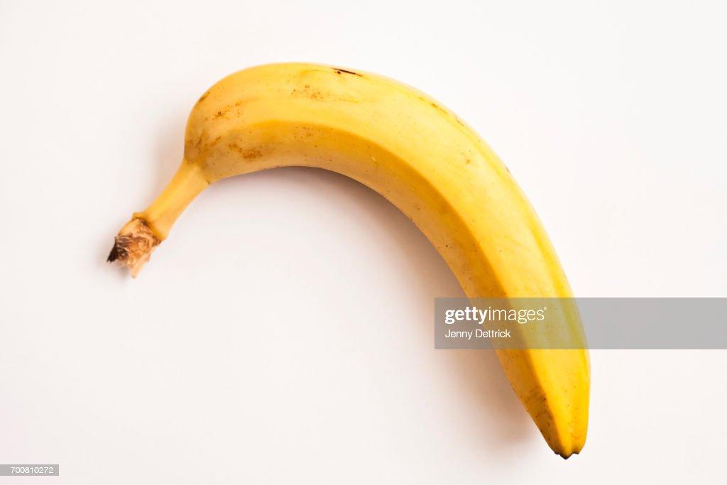 One banana : Stock Photo