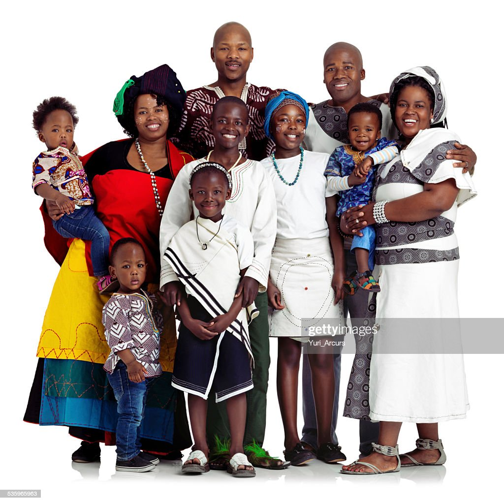 One big happy family : Stock Photo
