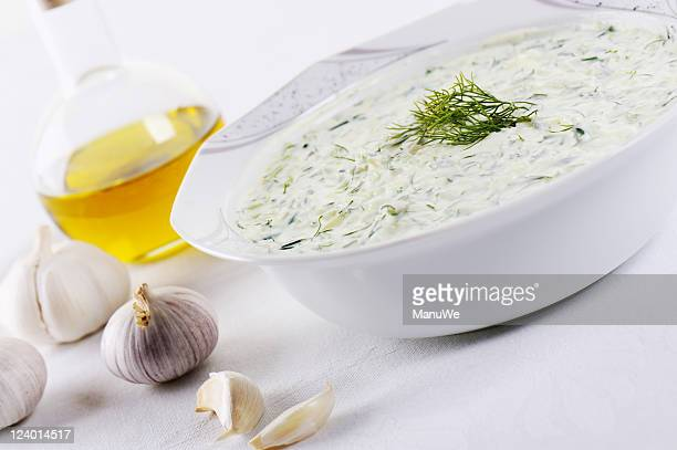 One Bowl of Tzaziki with Dill