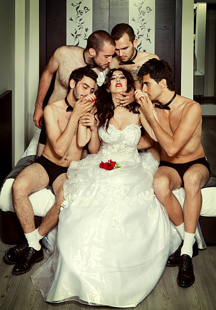 One bride Four grooms