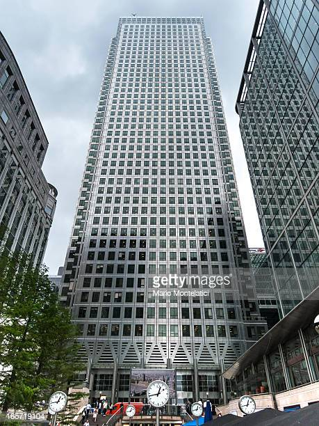 One Canada Square, Canary Wharf, London, UK, 2012
