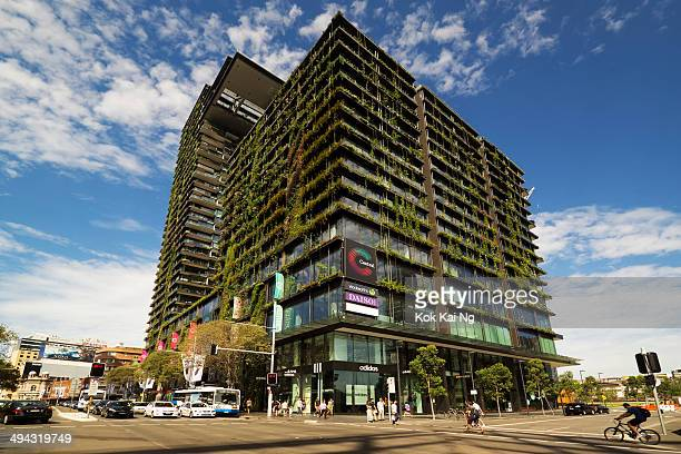 CONTENT] One Central Park towers on Broadway Sydney which feature vertical gardens on its facade