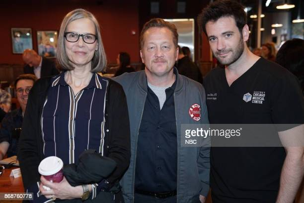 EVENTS 'One Chicago Day' Pictured Amy Morton 'Chicago PD' Christian Stolte 'Chicago Fire' Colin Donnell 'Chicago Med' at the 'One Chicago Day' event...