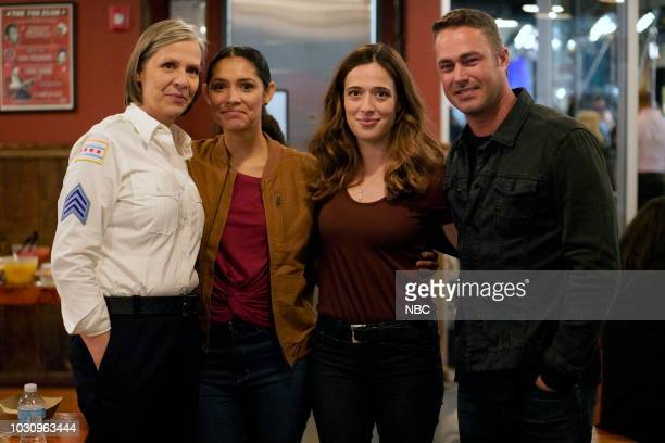 EVENTS 'One Chicago Day' Pictured Amy Morton 'Chicago PD' Miranda Rae Mayo 'Chicago Fire' Marina Squerciati 'Chicago PD' Taylor Kinney 'Chicago Fire'...