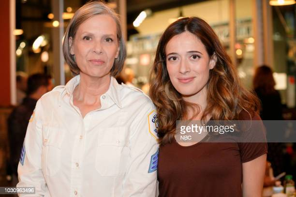 EVENTS 'One Chicago Day' Pictured Amy Morton Marina Squerciati 'Chicago PD' at 'One Chicago Day' at Lagunitas Brewing Company in Chicago IL on...