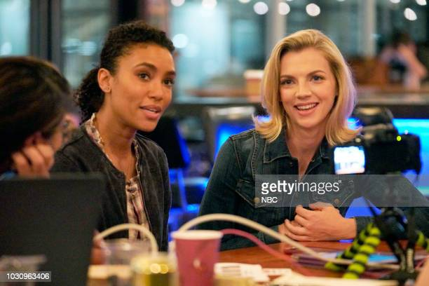 EVENTS 'One Chicago Day' Pictured Annie Ilonzeh Kara Killmer 'Chicago Fire' at 'One Chicago Day' at Lagunitas Brewing Company in Chicago IL on...
