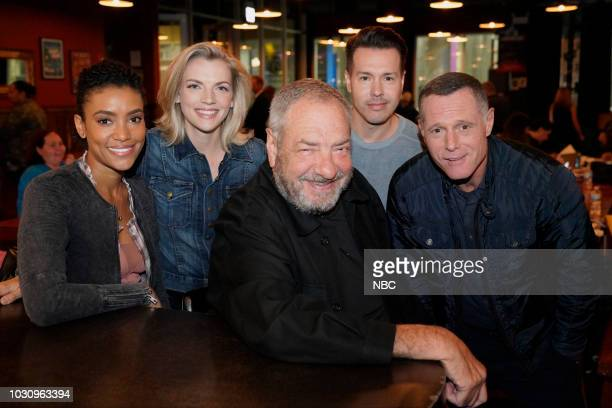 EVENTS One Chicago Day Pictured Annie Ilonzeh Kara Killmer Chicago Fire Dick Wolf Executive Producer Jon Seda Jason Beghe Chicago PD at One Chicago...