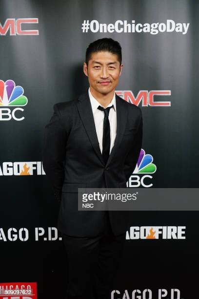 EVENTS 'One Chicago Day' Pictured Brian Tee 'Chicago Med' at the 'One Chicago Day' Party at Prime Provisions in Chicago IL on October 30 2017