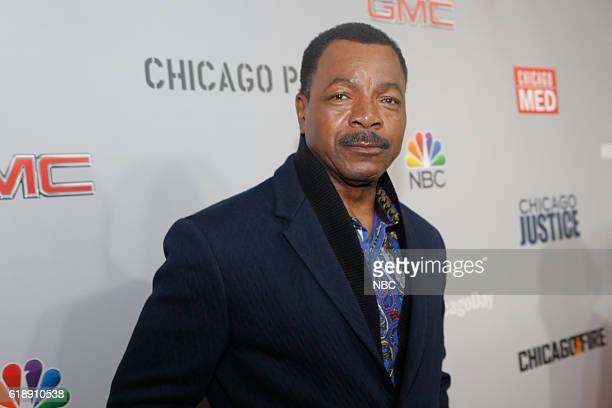 EVENTS 'One Chicago Day' Pictured Carl Weathers 'Chicago Justice' at the 'One Chicago Day' Party at Swift Sons Steakhouse in Chicago IL on October 24...