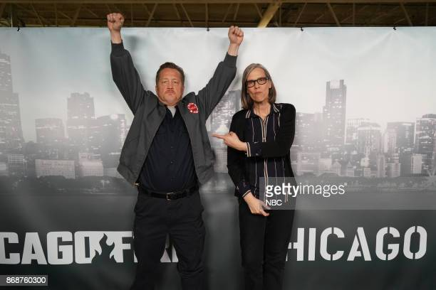 EVENTS 'One Chicago Day' Pictured Christian Stolte 'Chicago Fire' Amy Morton 'Chicago PD' at the 'One Chicago Day' event at Lagunitas Brewing Company...