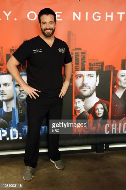 """One Chicago Day"""" -- Pictured: Colin Donnell, """"Chicago Med"""" at """"One Chicago Day"""" at Lagunitas Brewing Company in Chicago, IL on September 10, 2018 --"""