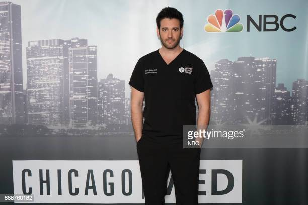 """One Chicago Day"""" -- Pictured: Colin Donnell, """"Chicago Med"""" at the """"One Chicago Day"""" event at Lagunitas Brewing Company in Chicago, IL, on October 30,..."""