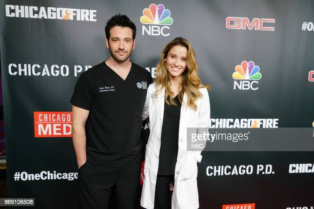 EVENTS 'One Chicago Day' Pictured Colin Donnell Norma Kuhlina 'Chicago Med' at the 'One Chicago Day' event at Lagunitas Brewing Company in Chicago IL...