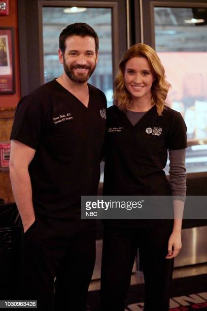 EVENTS 'One Chicago Day' Pictured Colin Donnell Norma Kuhling 'Chicago Med' at 'One Chicago Day' at Lagunitas Brewing Company in Chicago IL on...