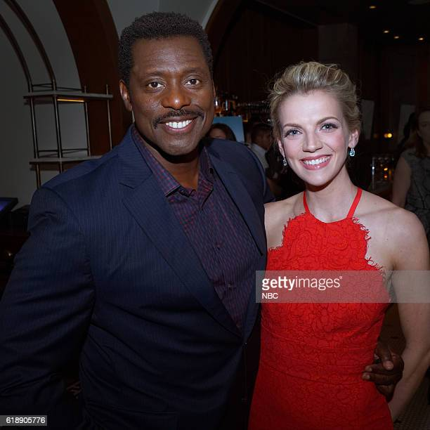 EVENTS One Chicago Day Pictured Eamonn Walker Chicago Fire and Kara Killmer Chicago Fire at the One Chicago Day Party at Swift Sons Steakhouse in...