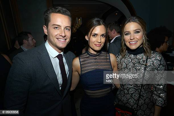 EVENTS One Chicago Day Pictured Jesse Lee Soffer Chicago PD Torrey DeVito Chicago Med and Sophia Bush Chicago PD at the One Chicago Day Party at...