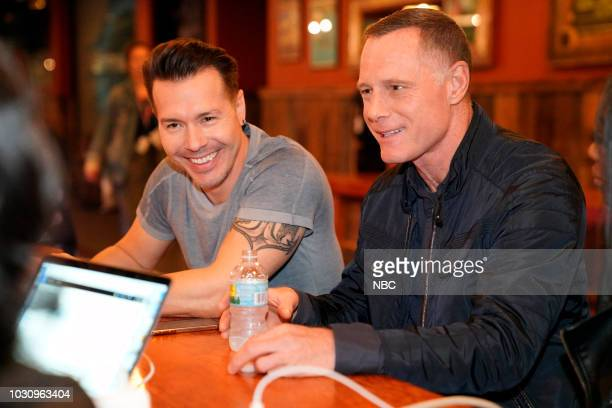 EVENTS One Chicago Day Pictured Jon Seda Jason Beghe Chicago PD at One Chicago Day at Lagunitas Brewing Company in Chicago IL on September 10 2018