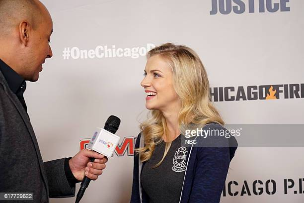 EVENTS One Chicago Day Pictured Kara Killmer Chicago Fire at the One Chicago Day event at Lagunitas Brewing Company in Chicago IL on October 24 2016