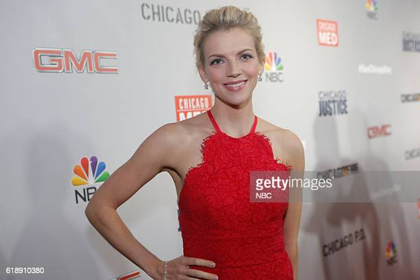 EVENTS One Chicago Day Pictured Kara Killmer Chicago Fire at the One Chicago Day Party at Swift Sons Steakhouse in Chicago IL on October 24 2016