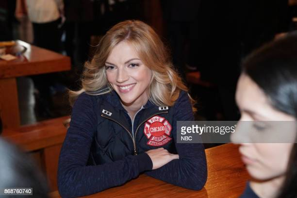 EVENTS 'One Chicago Day' Pictured Kara Killmer 'Chicago Fire' at the 'One Chicago Day' event at Lagunitas Brewing Company in Chicago IL on October 30...