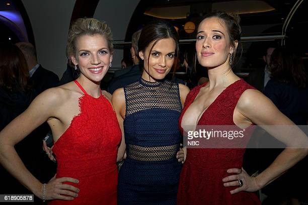 EVENTS One Chicago Day Pictured Kara Killmer Chicago Fire Torrey DeVito Chicago Med and Marina Squerciati Chicago PD at the One Chicago Day Party at...