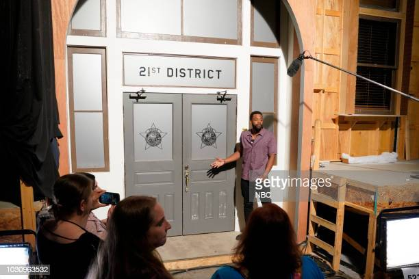 EVENTS One Chicago Day Pictured LaRoyce Hawkins Chicago PD at One Chicago Day at Cinespace Chicago Film Studios in Chicago IL on September 10 2018