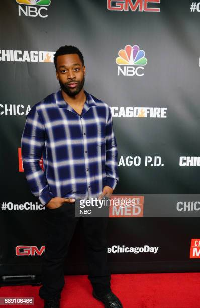 EVENTS 'One Chicago Day' Pictured LaRoyce Hawkins 'Chicago PD' at the 'One Chicago Day' event at Lagunitas Brewing Company in Chicago IL on October...