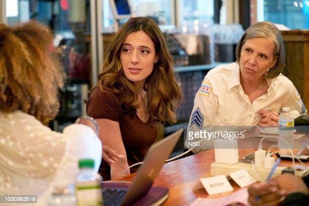 "One Chicago Day"" -- Pictured: Marina Squerciati, Amy Morton, ""Chicago P.D."" at ""One Chicago Day"" at Lagunitas Brewing Company in Chicago, IL on..."