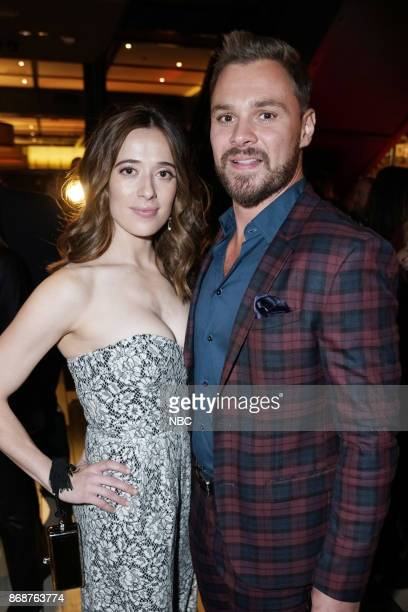 EVENTS 'One Chicago Day' Pictured Marina Squerciati Patrick John Flueger 'Chicago PD' at the 'One Chicago Day' Party at Prime Provisions in Chicago...