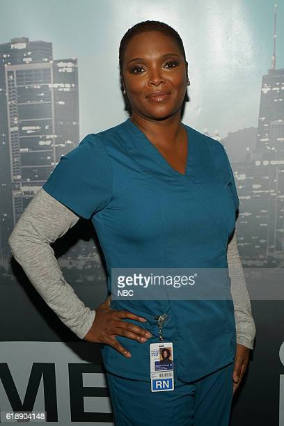 """One Chicago Day"""" -- Pictured: Marlyne Barrett, """"Chicago Med"""" at the """"One Chicago Day"""" event at Lagunitas Brewing Company in Chicago, IL, on October..."""