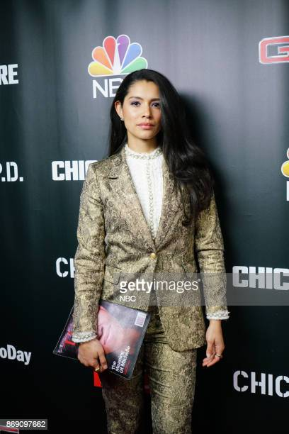 EVENTS 'One Chicago Day' Pictured Miranda Rae Mayo 'Chicago Fire' at the 'One Chicago Day' Party at Prime Provisions in Chicago IL on October 30 2017
