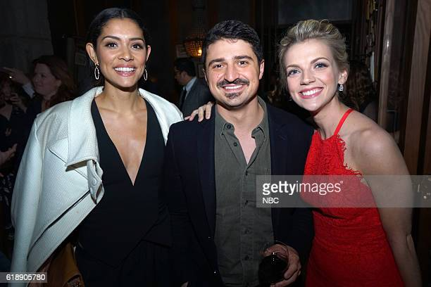 EVENTS One Chicago Day Pictured Miranda Rae Mayo Chicago Fire Yuri Sardarov Chicago Fire and Kara Killmer Chicago Fire at the One Chicago Day Party...