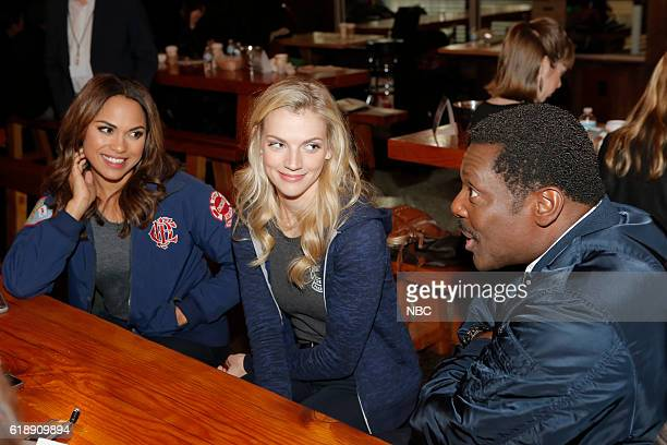 EVENTS One Chicago Day Pictured Monica Raymund Kara Killmer Eamonn Walker Chicago Fire at the One Chicago Day event at Lagunitas Brewing Company in...