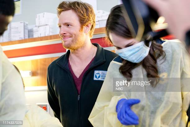 """One Chicago Day"""" -- Pictured: Nick Gehlfuss, """"Chicago Med"""" at """"One Chicago Day"""" at Lagunitas Brewing Company in Chicago, IL on October 7, 2019 --"""