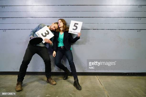 EVENTS One Chicago Day Pictured Patrick John Flueger Marina Squerciati Chicago PD at the One Chicago Day event at Lagunitas Brewing Company in...