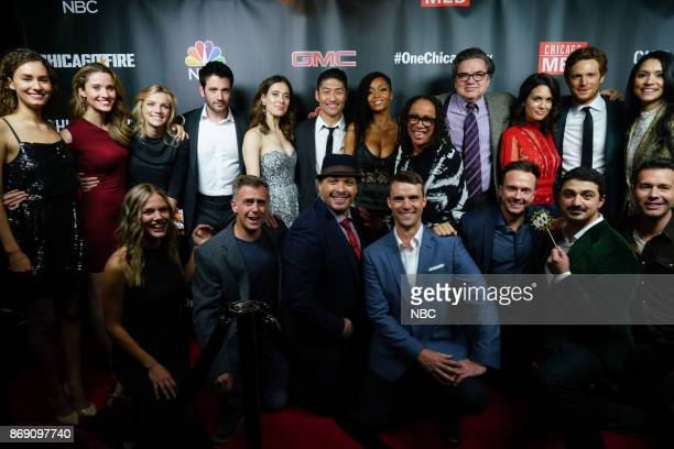 EVENTS 'One Chicago Day' Pictured Rachel DiPillo Norma Kuhlina 'Chicago Med' Kara Killmer 'Chicago Fire' Colin Donnell 'Chicago Med' Marina...