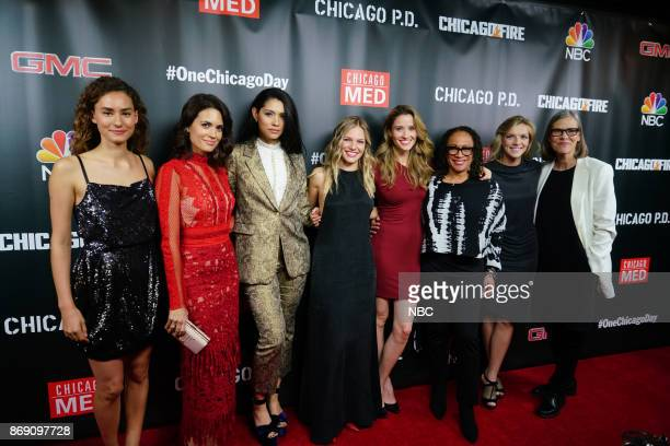 EVENTS 'One Chicago Day' Pictured Rachel DiPillo Torrey Devitto 'Chicago Med' Miranda Rae Mayo 'Chicago Fire' Tracy Spiridakos 'Chicago PD' Norma...