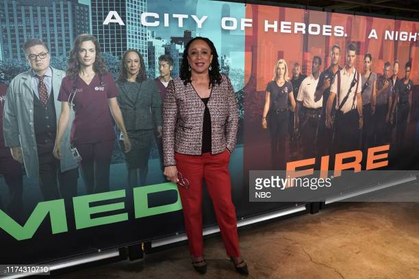 """One Chicago Day"""" -- Pictured: S. Epatha Merkerson, """"Chicago Med"""" at """"One Chicago Day"""" at Lagunitas Brewing Company in Chicago, IL on October 7, 2019..."""