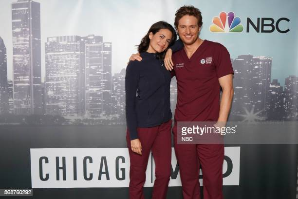 EVENTS 'One Chicago Day' Pictured Torrey Devitto Nick Gehlfuss 'Chicago Med' at the 'One Chicago Day' event at Lagunitas Brewing Company in Chicago...